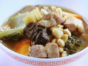 豚肩ロースとゴーヤのスープ