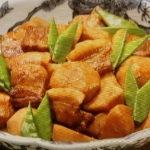 里芋と豚の照り煮