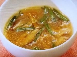 干ししいたけの中華スープ