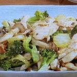 鶏胸肉とブロッコリーのしょうがごま炒め