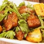 レンコンと豚肉のコクうま炒め
