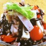 雑穀とひじきのサラダ