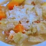 キャベツのバタースープ