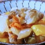 豚肉と彩り野菜の蒸し煮