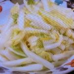 白菜の即席漬け