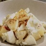 りんごとかぶのブルーチーズサラダ