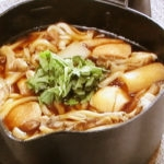 鶏すき鍋うどん