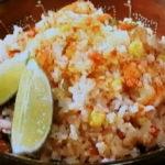 メキシカンライス風炊き込みご飯