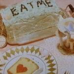 不思議の国のアリスのケーキ(パウンドケーキ)
