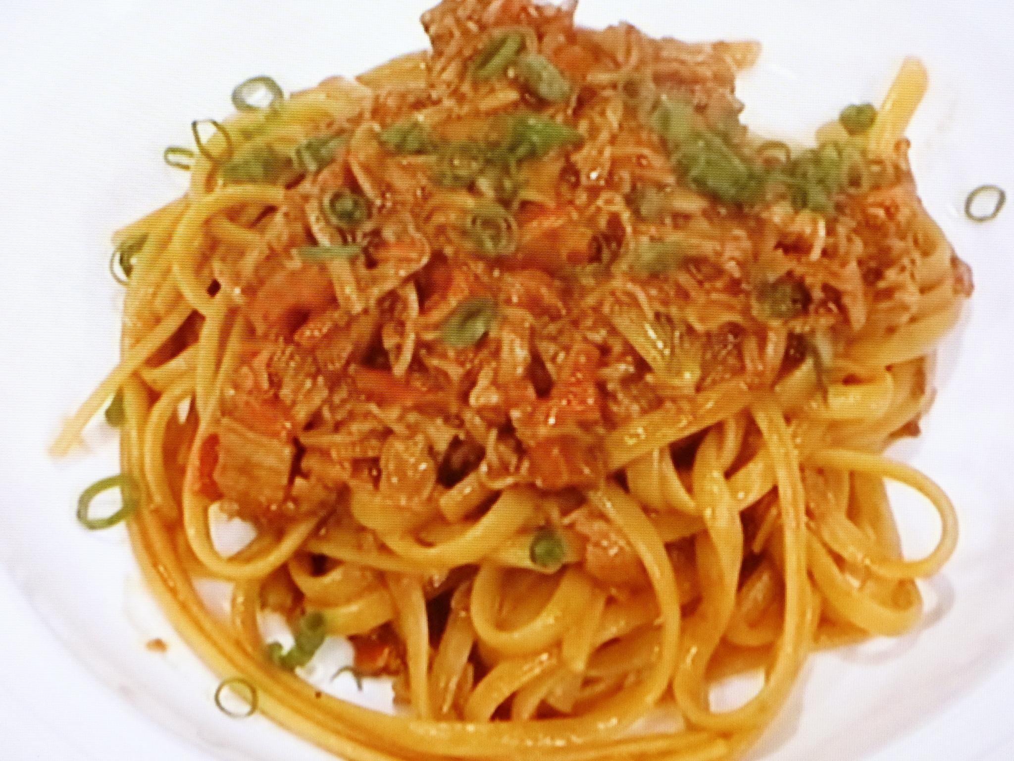 カニカマ 味噌 パスタ