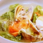 あさりと春野菜のスープ
