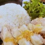 鶏肉やわらかカオマンガイ