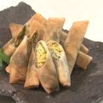 ズッキーニの味噌春巻き