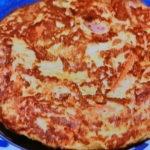 チーズソーセージオムレツ