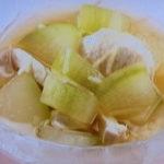 新しょうがと冬瓜の冷たい煮物