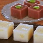 水ようかん~ミント風味&グレープフルーツ
