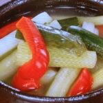 夏野菜の水キムチ